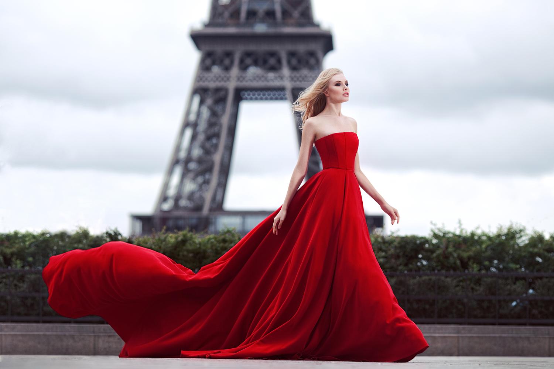 Девушка в платьях картинки