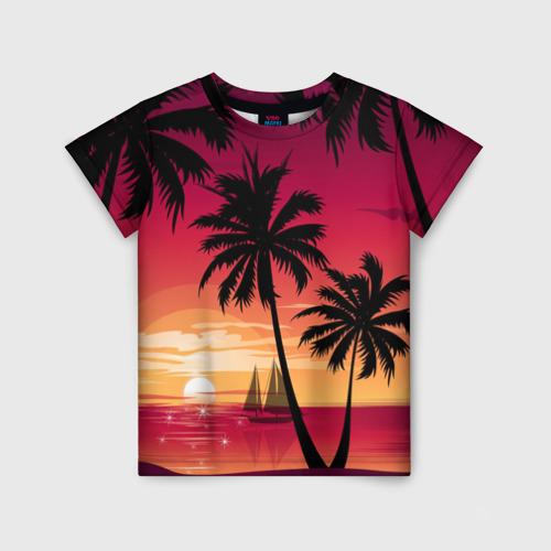 Где купить футболку с пальмой?